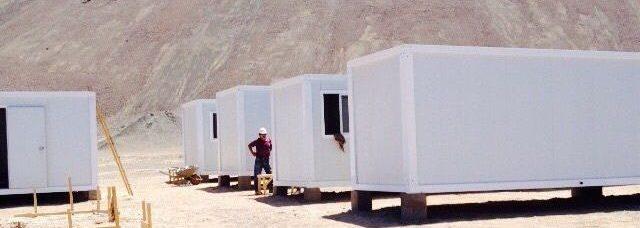 bungalow en kit de base vie de chantier