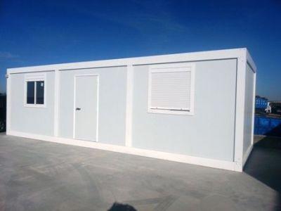 Module de base en kit pour bungalow de chantier